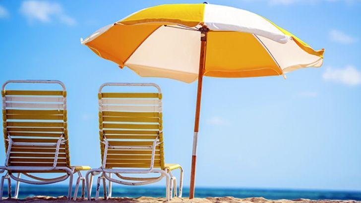 Индивидуален плажен чадър